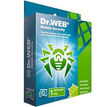 Dr.Web Mobile Security 1 устройство/1 год ESD - купить в интернет-магазине Skysoft