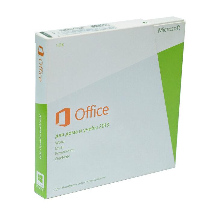 Microsoft Office 2013 Home and Student BOX 32-bit/x64 Russian Kazakhstan DVD