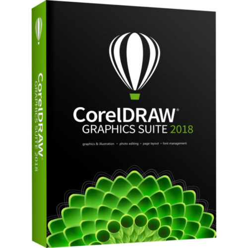 CorelDRAW Graphics Suite 2018 Windows BOX - купить в интернет-магазине Skysoft