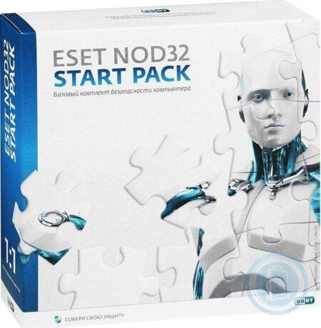 ESET NOD32 Antivirus новая лицензия на 1 год на 1ПК ESD