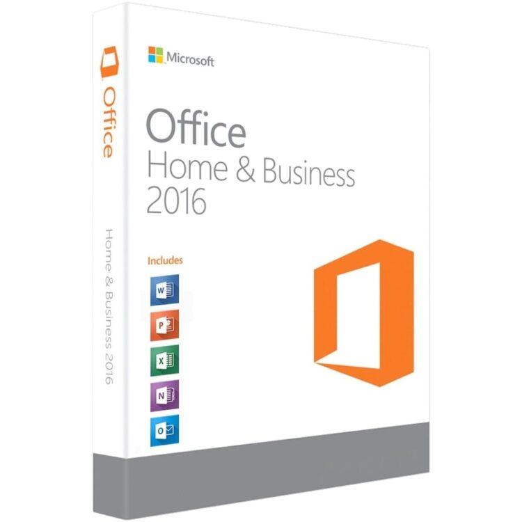 Microsoft Office 2016 Home and Business ESD 32-bit/x64 Russian электронный ключ (T5D-02322) - купить в интернет-магазине Skysoft