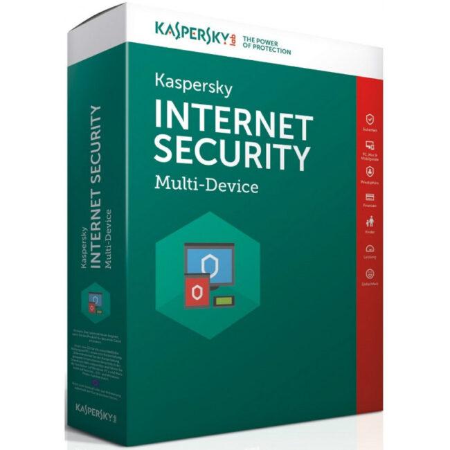 Kaspersky Internet Security для всех устройств новая лицензия (5 устройств) 1 год