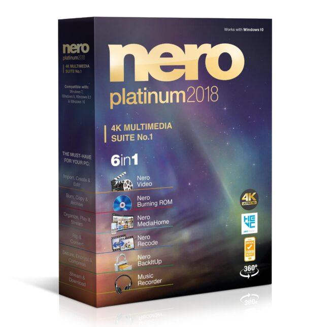 Nero Platinum 2018 Suite ESD - купить в интернет-магазине Skysoft