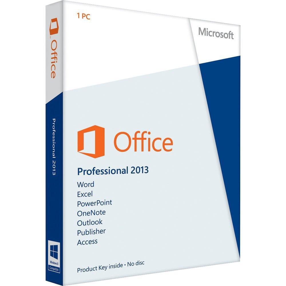Microsoft Office 2013 Professional ОЕМ 32-bit/x64 Russian CIS and GE DVD (T5D-02105) - купить в интернет-магазине Skysoft
