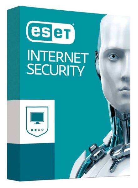 ESET NOD32 Internet Security новая лицензия на 1 год на 5 устройств ESD