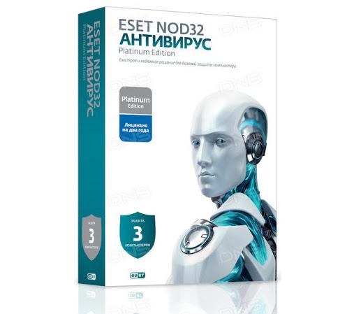 ESET NOD32 Антивирус новая лицензия на 2 года на 3ПК ESD