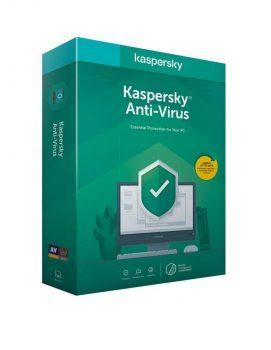 Kaspersky Anti-Virus новая лицензия 2 ПК/1 год ESD