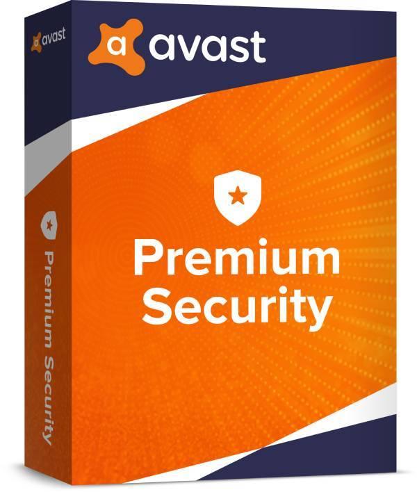 Avast Premium Security 1 ПК 1 год