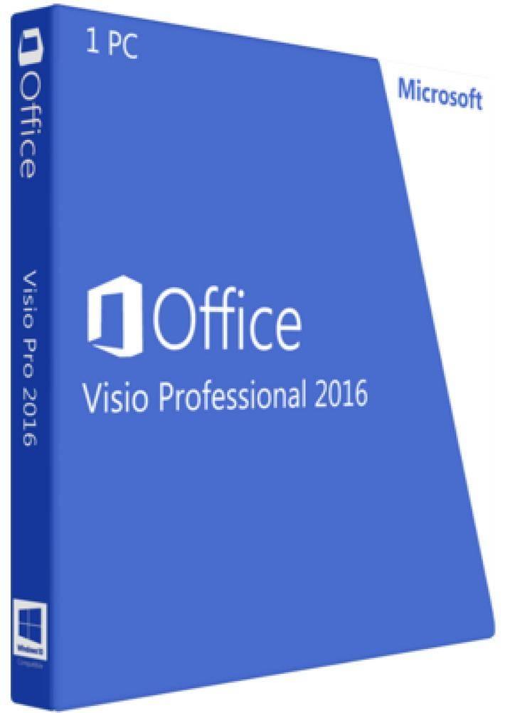 Microsoft Visio 2016 Professional ESD 32/64 электронный ключ (D87-07114) - купить в интернет-магазине Skysoft
