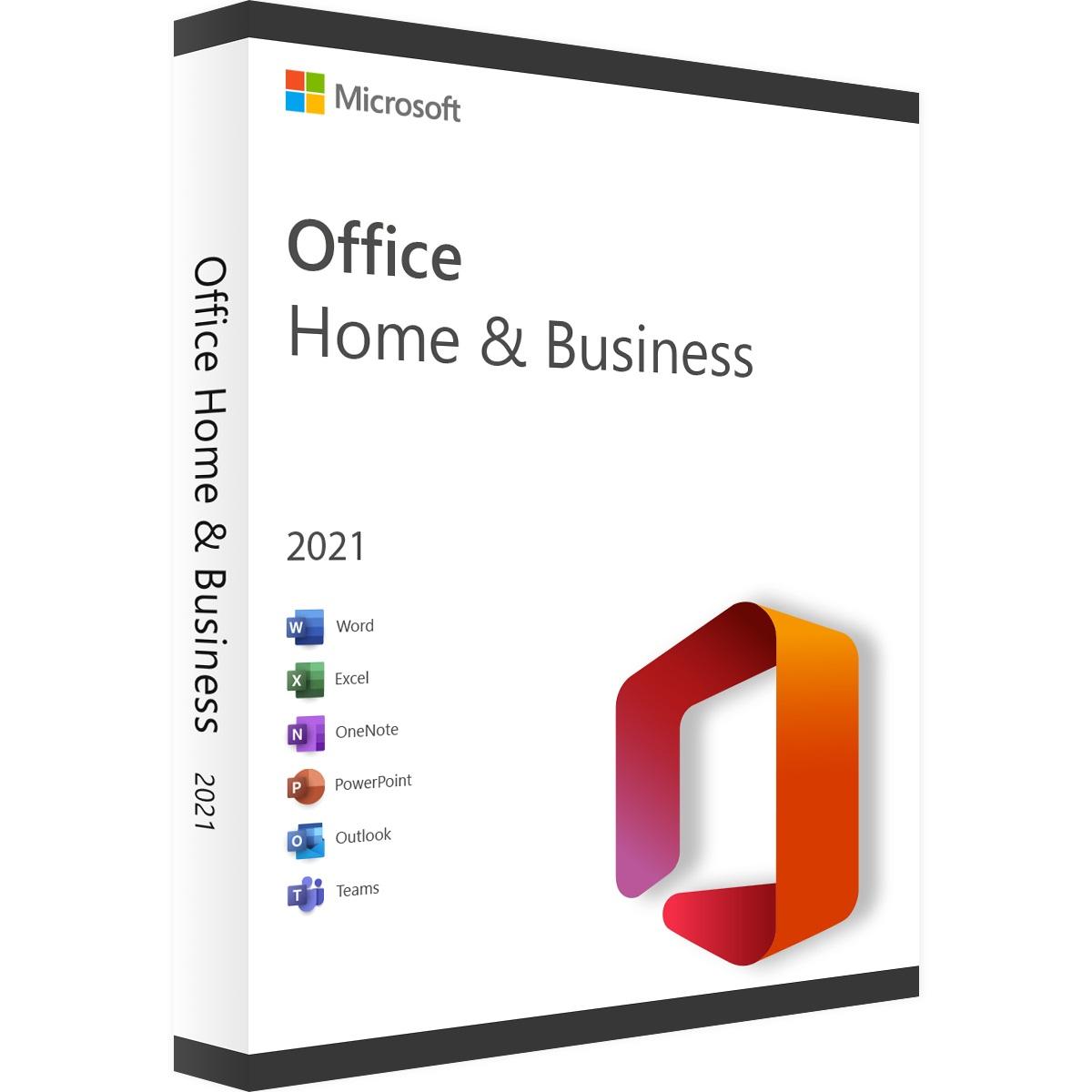 Microsoft Office 2021 Home and Business ESD 32-bit/x64 Russian электронный ключ